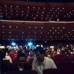 メインフォーラムの会場、パシフィコ横浜国立大ホールです。オープニングには席が全て埋まりました。