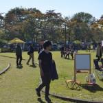 花巻城跡地では、マーブルマーケットが同時開催し、多数の来場者がいらっしゃいました。